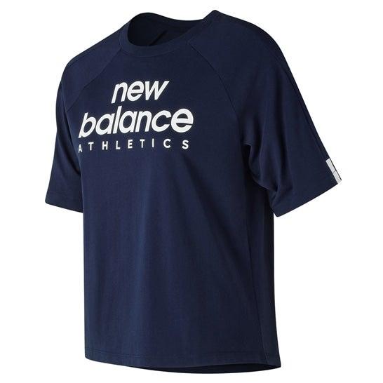 ニューバランス newbalance NB ATHLETICS T レディース > アパレル > ライフスタイル > トップス ブルー・青