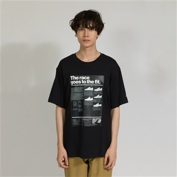 【SALE】RACE GOES TO THE FIT Tシャツ