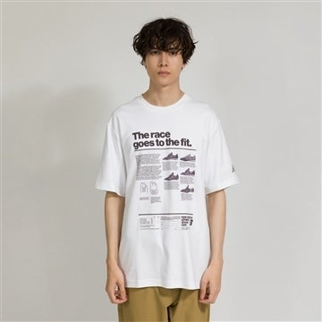 RACE GOES TO THE FIT Tシャツ